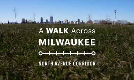 Map: A Walk Across Milwaukee