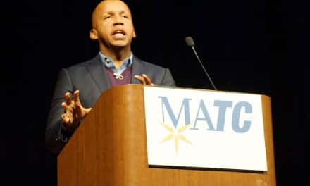 Bestselling author Bryan Stevenson spoke about social justice at MATC event