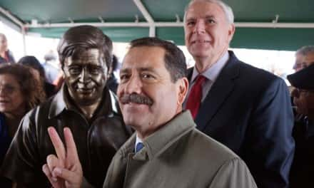 Photo Essay: Cesar Chavez Statue Unveiled