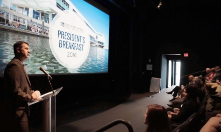 Vision for Discover World shared at President's Breakfast