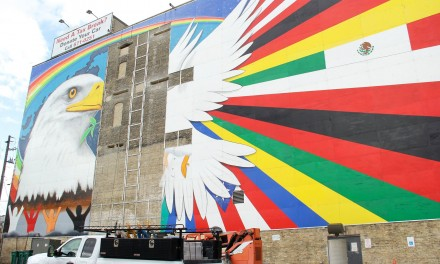 Original artist not informed about Mural of Peace alterations