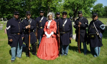 Memorial installed at grave of Colored Civil War soldier
