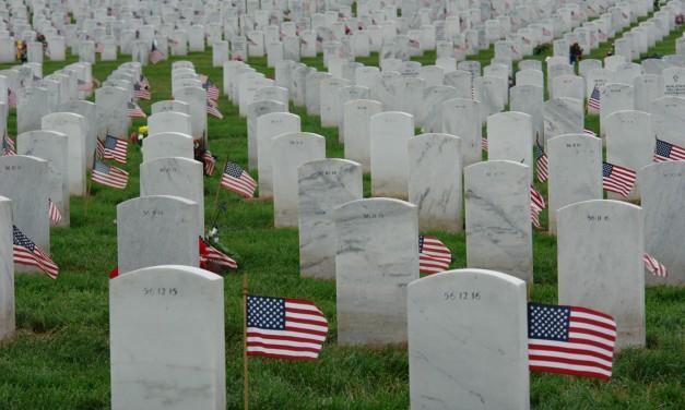 A prayer for the fallen on Memorial Day