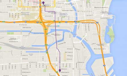 Map: Workers' Day protest route