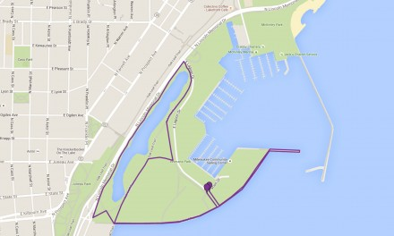 Map: NAMIwalks along Lakefront