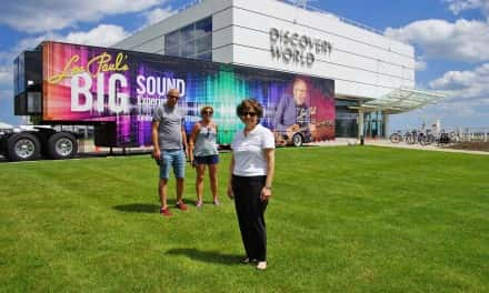 Les Paul's traveling exhibit coming to Lakefront