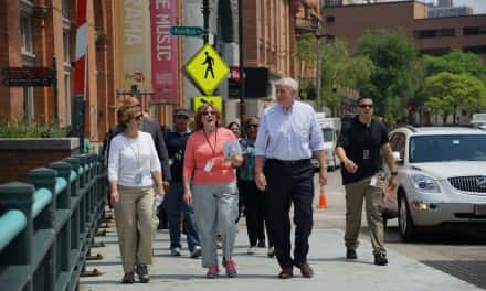 Walk historic Concordia area with city officials