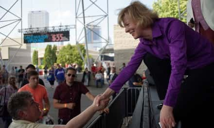 Senator Baldwin opens PrideFest with nod to Harvey Milk