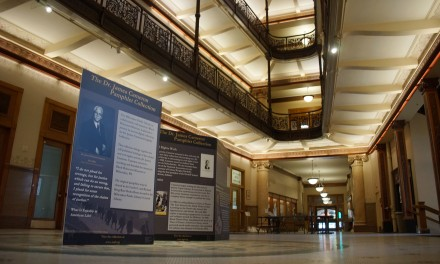 Photo Essay: Dr. Cameron exhibit at City Hall