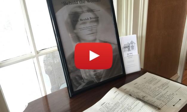 Video: Brinton House Exhibit