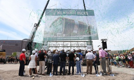 Bucks Break Ground on New Arena