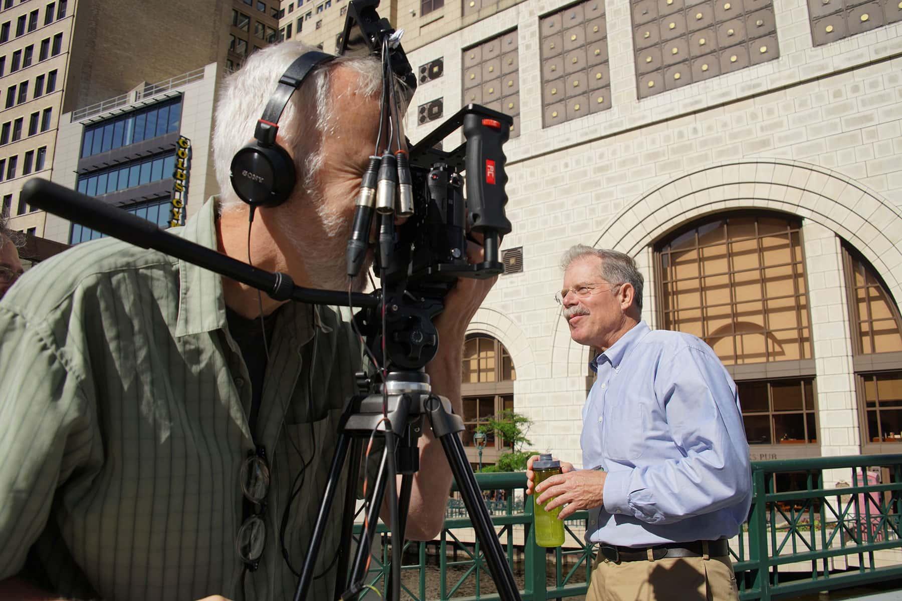 Photo Essay Filming On Active Bridges  The Milwaukee Independent Photo Essay Filming On Active Bridges