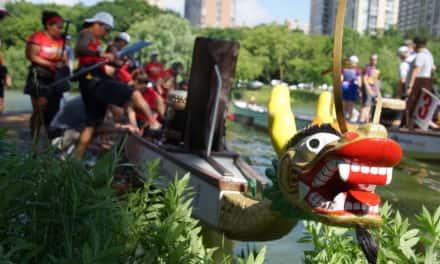Dragon Boats set to race across Veterans Park lagoon