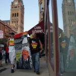 Photo Essay: Protestors greet Trump at Milwaukee town hall