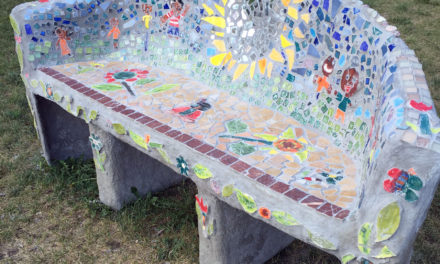 SHARP Literacy students create urban agriculture art