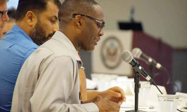 Reggie Jackson: Testimony on Hate Crimes