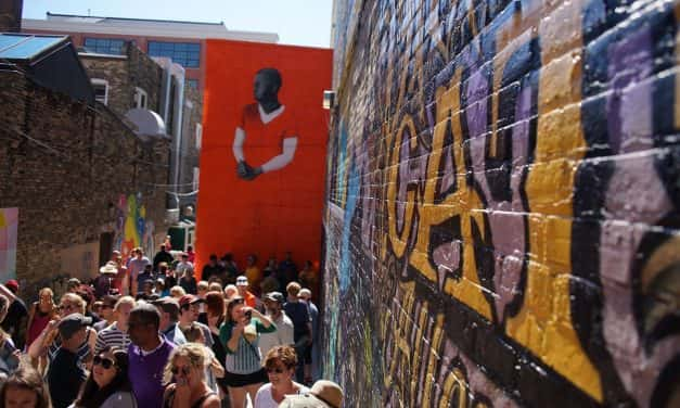 Photo Essay: Black Cat Alley draws huge crowds