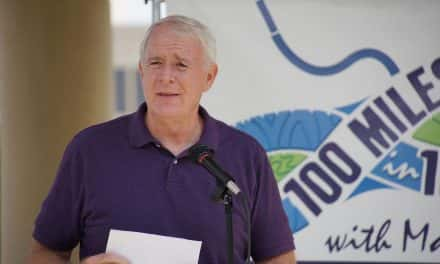 Photo Essay: Mayor Barrett's 100 Day walking challenge concludes