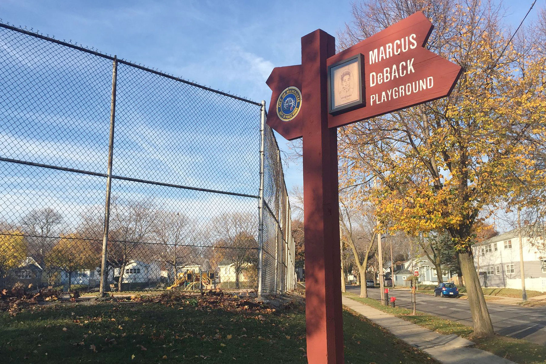 Rebirth Of Marcus Deback Playground Sparked By Loving Memories The Milwaukee Independent Marcus park is a park located in dallas, texas. the milwaukee independent