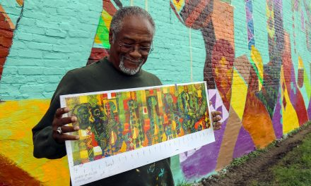 Joy comes to light in Black Historical Society's mural at Sherman Park