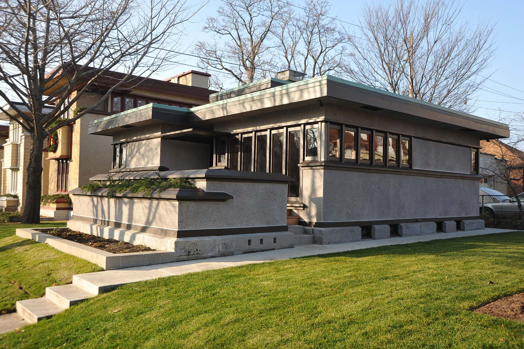 Milwaukee s frank lloyd wright affordable homes turn 100 for Frank lloyd wright list of houses