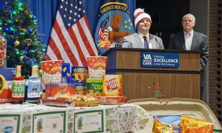Mayor Barrett's Holiday Drive delivers gifts to veterans