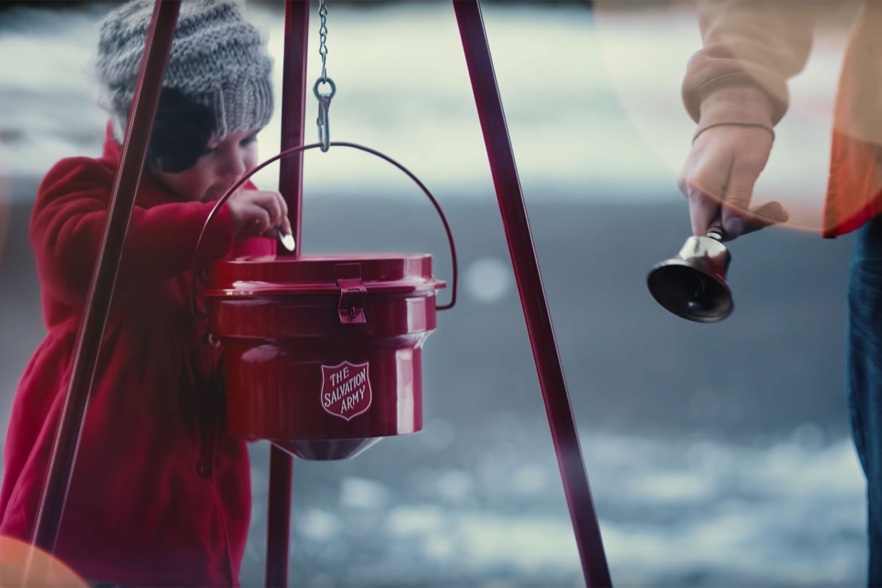 Salvation Army Kettle ~ Salvation army s red kettle campaign in a state of