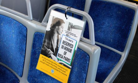 Rosa Parks honored with reserved bus seat tribute