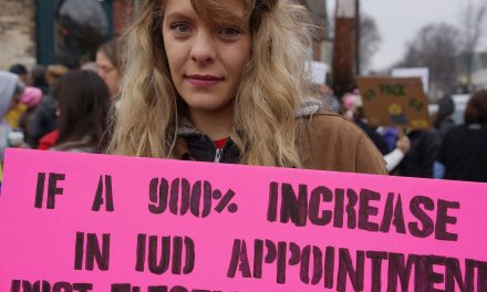 Photo Essay: Women's March on Milwaukee