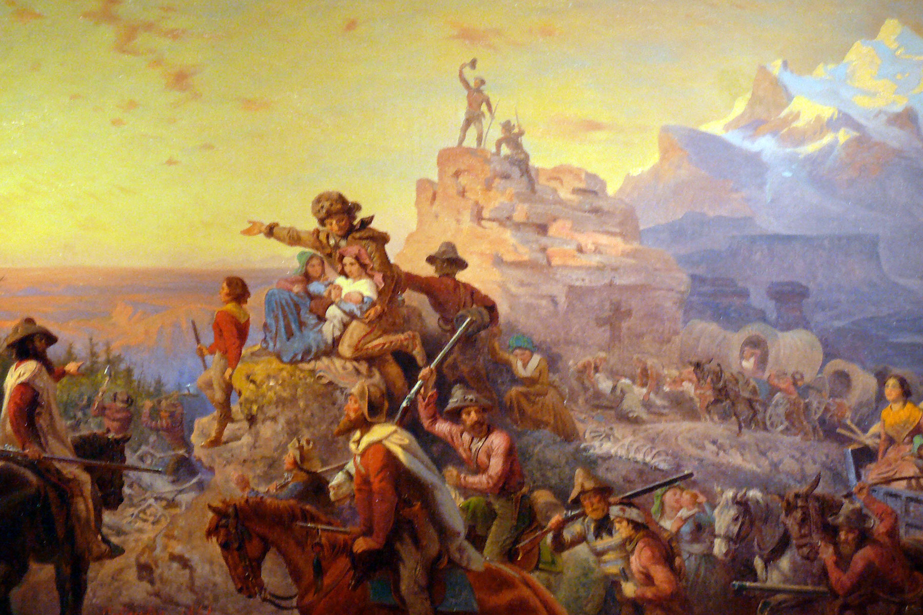 pro manifest destiny essays Manifest destiny was an idea that heavily shaped american policy in the 1800s american manifest destiny was the major driving force behind the massive territorial expansion for the united states during the 1840s.