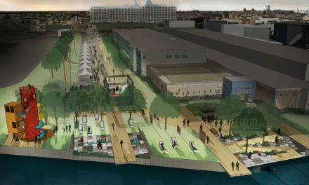 Public space design selected for Milwaukee's Inner Harbor