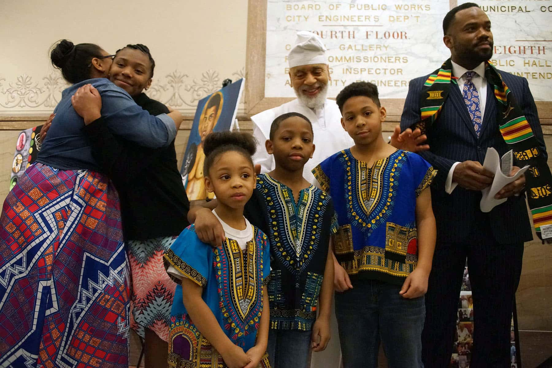 photo essay city hall hosts inaugural black history program the photo essay city hall hosts inaugural black history program