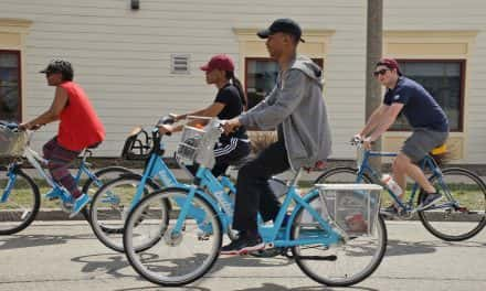 Photo Essay: Beerline pedal tour by Bublr fueled with pizza