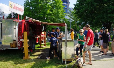 Juneau Park taps the keg to open its Traveling Beer Garden