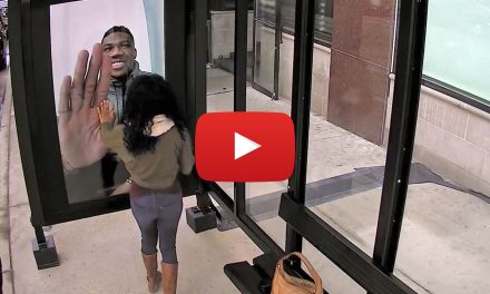 Video: Giannis Antetokounmpo pranks Bucks fans