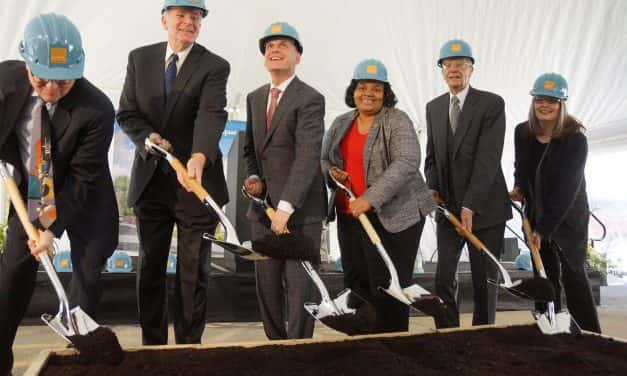 Photo Essay: Bader Foundation breaks ground on Harambee HQ