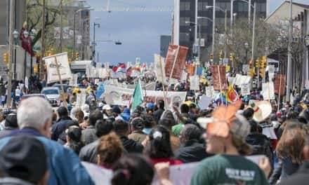Annual May 1st march draws 30,000 supporters for social justice