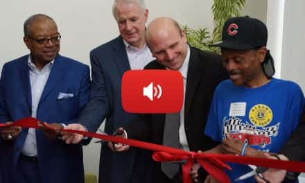 Audio: Mercy Housing celebrates apartment grand opening