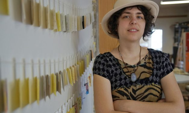 Anja Notanja Sieger: Like life, typewriters have no undo button
