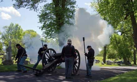 Photo Essay: Calvary Cemetery hosts Civil War era Memorial Day service