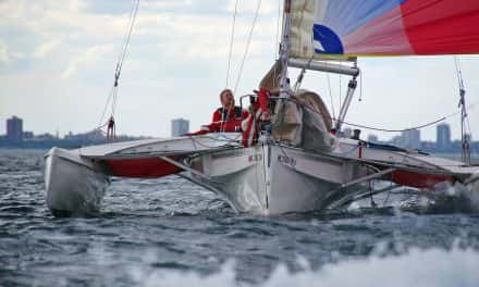 Photo Essay: 79th Queen's Cup sails across Lake Michigan
