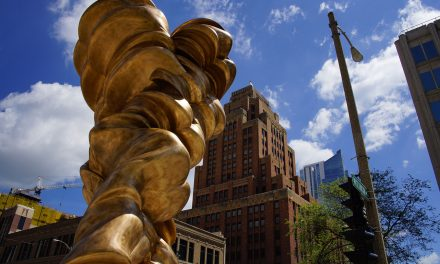 "Tony Cragg's ""Mixed Feelings"" sculpture to be installed outside City Hall"