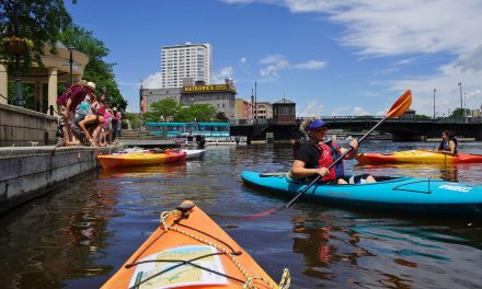 New map of Milwaukee's Urban Water Trail links Ozaukee County Rivers to the downtown Lakefront