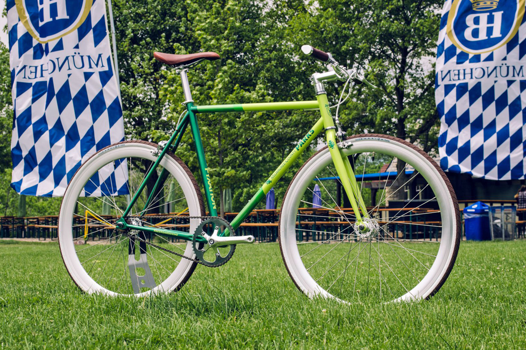 Milwaukee County Executive Chris Abele Announced That A Custom Traveling  Beer Garden Bicycle Design Will Be Revealed On June 7 At The Kletzsch Park  ...