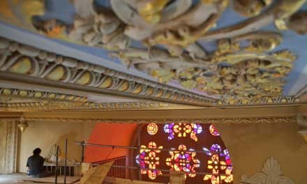 Photo Essay: Up close with the ceilings of St. Stanislaus