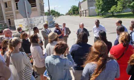 LISC highlights revitalization progress during MLK Drive tour