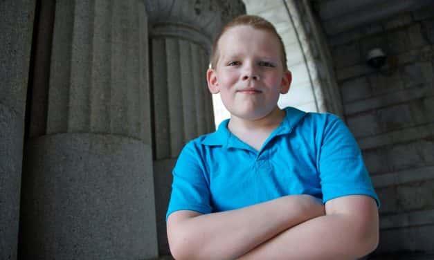 Local boy petitions Senator Ron Johnson for lifesaving health care