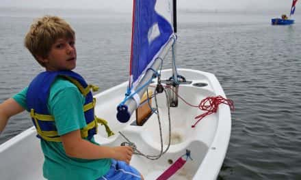 Sailing camp teaches local students how to navigate a future on freshwater