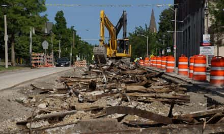 Photo Essay: Digging up Milwaukee's Streetcar Past