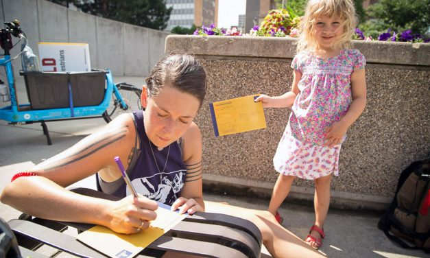 Postcard campaign seeks safer streets for kids and pedestrians